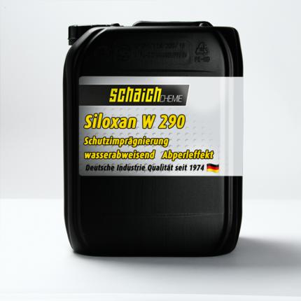 Schaich Chemie Schutzimprägnierung Siloxan W290 Wasserschutz, farbton transparent 1 w290 schutz impraegnierung loesemittelhaeltig wasserabweisend abperl effekt schaich chemie