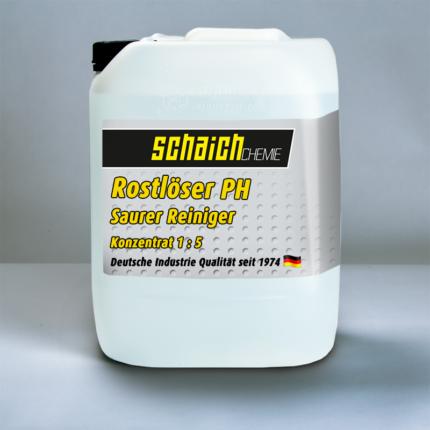 Schaich Chemie Rostlöser PH Konzentrat 1:5 1 rostloeser ph saurer reiniger rost loeser konzentrat schaich chemie