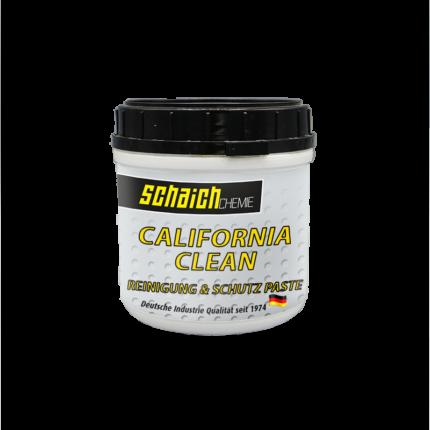 Schaich Chemie California Clean Polierpaste für Stein und Metall 1 california clean reinigung und schutz paste fuer lackierte Bauteile Metall schaich chemie