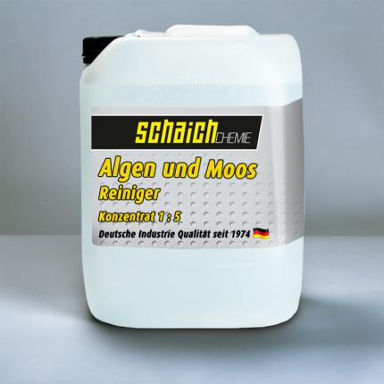 Schaich Chemie Algen und Moos Reiniger Konzentrat 1:5 1 algen moos reiniger konzentrat schaich chemie