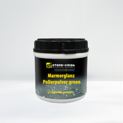 Stone Finish SteinRein Marmorglanz Polierpulver Green