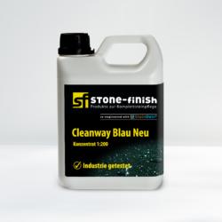 Stone Finish SteinRein Cleanway Blau