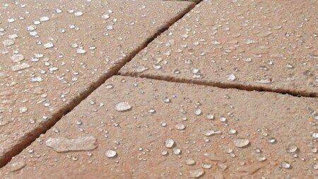 Hydrophobieren von Marmorsteinen