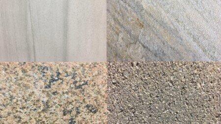 verschiedenste Gesteinsarten nebeneinander