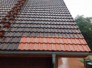 probefläche zum dach reinigen von der firma steinstar