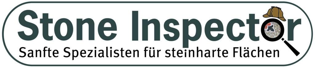 Logo Stone Inspector lang mit Slogan